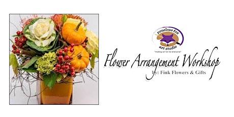 Thanksgiving Flower Arrangement Workshop tickets
