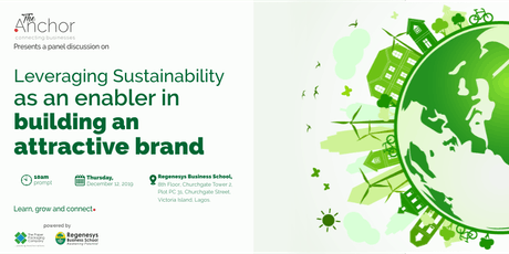 THE ANCHOR:Leveraging Sustainability as an enabler in building a Good Brand tickets