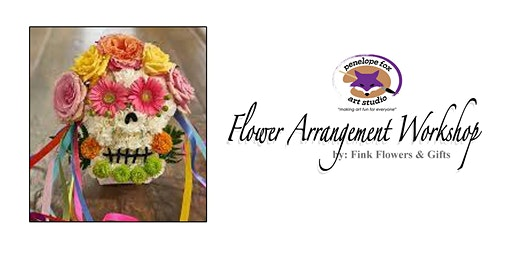 Halloween Flower Arrangement Workshop