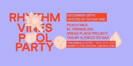 Dec 29 R&V Pool Party Hosted by Room One tickets