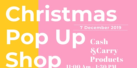 Christmas Pop up Shop tickets