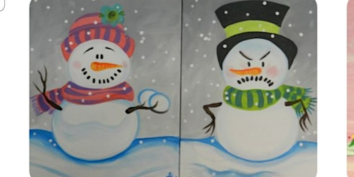 Snowmen Paint Event(Any 2 People)/Fall River