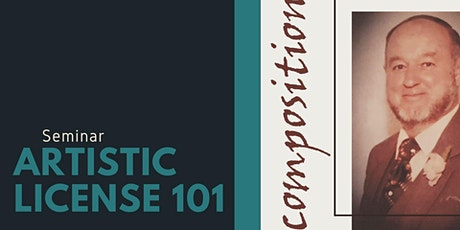 Artistic License 101 - Seminar (2hrs) tickets