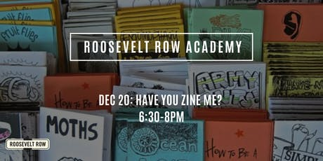 Roosevelt Row Academy Arts Workshops (December 2019) tickets
