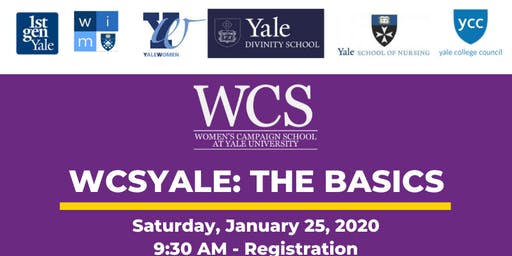 WCSYale: The Basics at Yale Divinity School