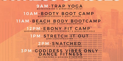 Ebony Fit Weekend Saturday Ticket Bundle