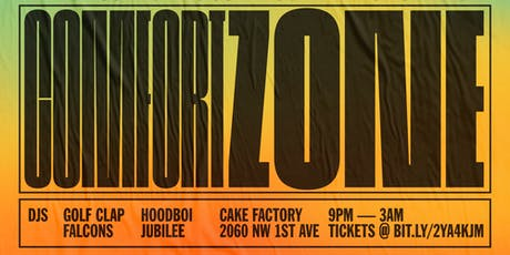 Golf Clap, Jubilee, Hoodboi, Falcons  Art Basel @ The Cake Factory tickets