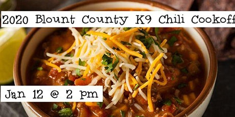 2020 Blount County K-9 Chili Cookoff at Tri-Hop Brewery tickets