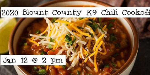 2020 Blount County K-9 Chili Cookoff at Tri-Hop Brewery