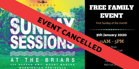 ***CANCELLED*** Sunday Sessions at the Briars - January 5th 2020 tickets