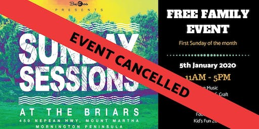 ***CANCELLED*** Sunday Sessions at the Briars - January 5th 2020