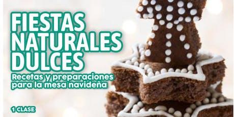 """TALLER GRATUITO """"Fiestas Naturales Dulces"""" entradas"""