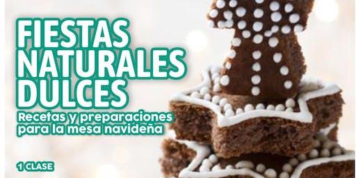 "TALLER GRATUITO ""Fiestas Naturales Dulces"""