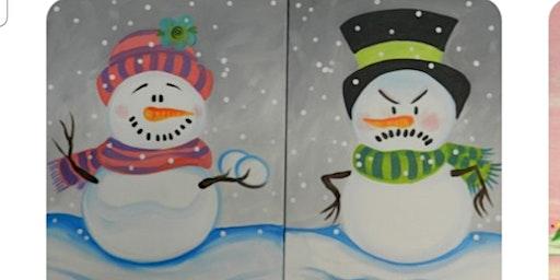 Snowmen Paint Event(Any 2 People)/Taunton