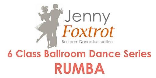 CAPE COD RUMBA 6 Class Ballroom Dance Series, Mondays, 6:30-7:30