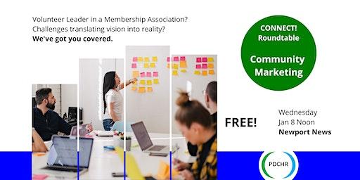 PDCHR Roundtable—Community Marketing