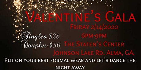 Valentines Gala tickets