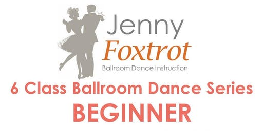CAPE COD BEGINNER 6 Class Ballroom Dance Series, Mondays, 6:30-7:30