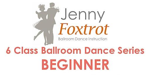 CAPE COD BEGINNER 6 Class Ballroom Dance Series, Mondays, 6:30-7:30