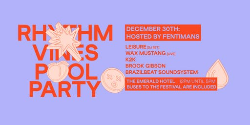 Dec 30 R&V Pool Party Hosted by Fentimans