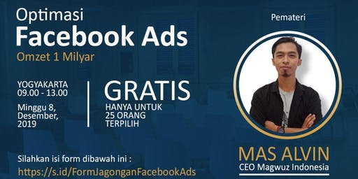 Jagongan #1 Optimasi Facebook Ads