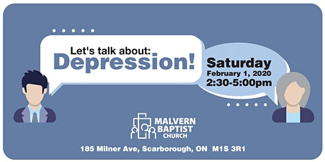 Let's talk about: Depression! tickets