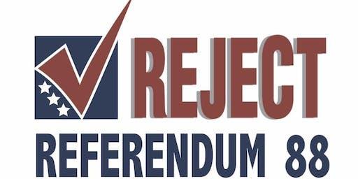 Reject R-88 Post Election Celebration