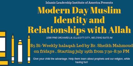 Muslim Identity Halaqa & Youth Night! tickets