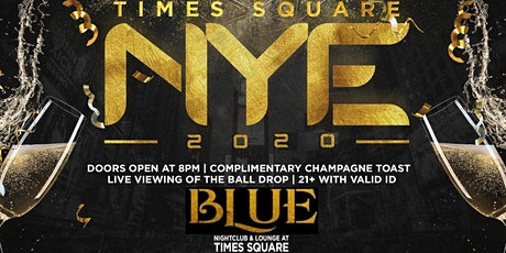 New Years Eve 2020 @ Blue Midtown Times Square tickets