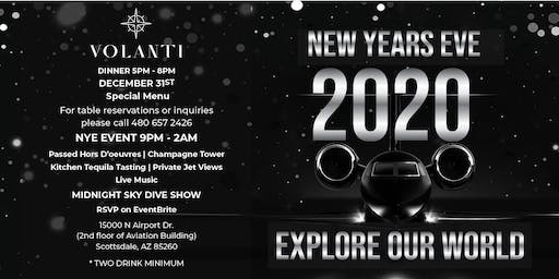 Explore Our World New Years Eve 2020