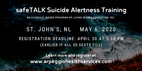 safeTALK Suicide Alertness Training - St. John's, NL tickets