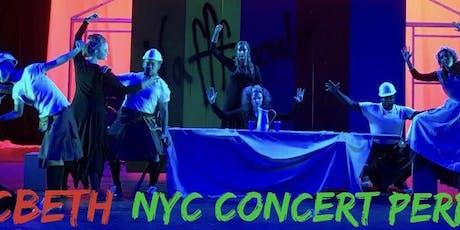M*cBeth NYC Concert Performance tickets