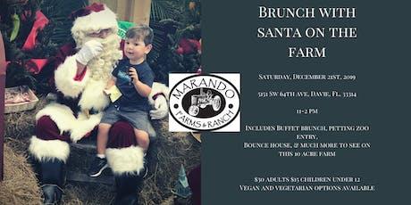 Brunch with Santa on the Farm  tickets