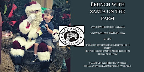 Brunch with Santa on the Farm  tickets