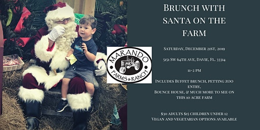 Brunch with Santa on the Farm
