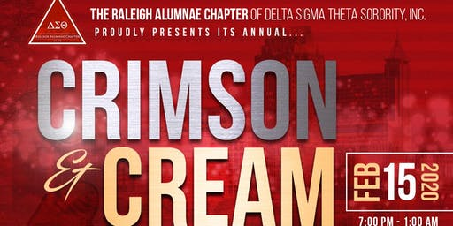 Raleigh Alumnae  Annual Crimson & Cream Scholarship Gala