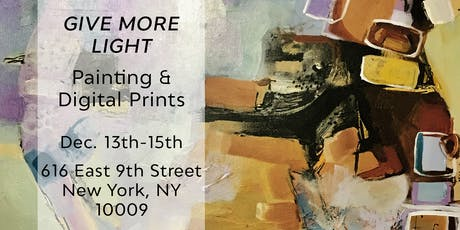 Year-End Exhibition: Give More Light tickets