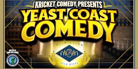 Kricket Comedy Presents: Yeast Coast Comedy tickets