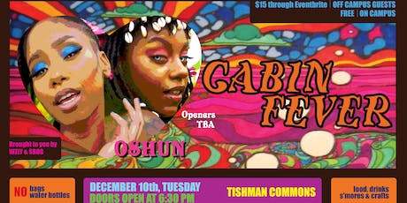 SBOG x WZLY Present: CABIN FEVER (featuring OSHUN, MOSIE, & Helenor) tickets