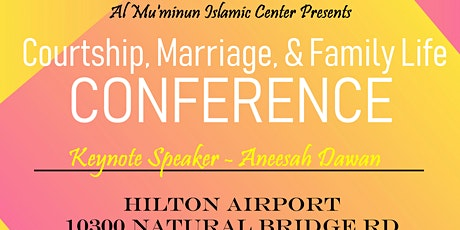 Courtship, Marriage & Family Life Conference tickets