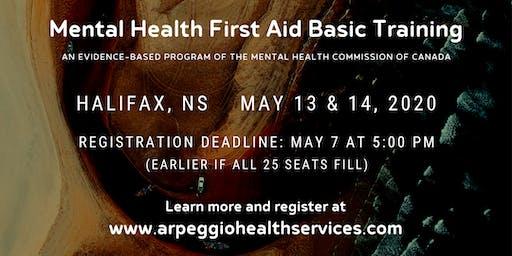 Mental Health First Aid Basic Training - Halifax, NS