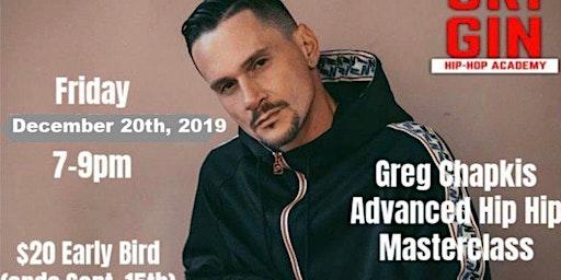 Greg Chapkis Urban Choreo Master Class