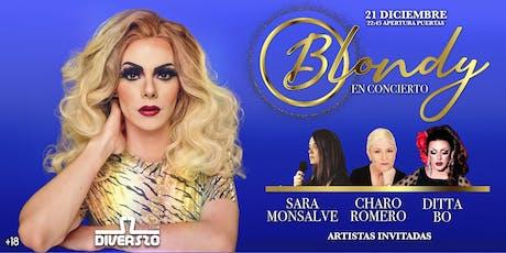 Blondy EN CONCIERTO entradas
