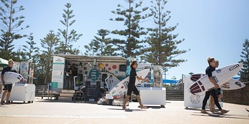 Ocean Action Pod at Maroubra Beach