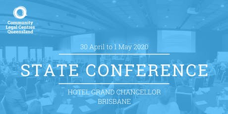 Community Legal Centres Queensland State Conference tickets