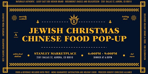 "Rosenberg's ""Jewish Christmas"" Chinese Food Pop-Up"