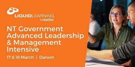 NT Government Advanced Leadership & Management Intensive tickets