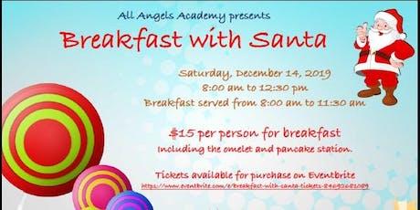 Breakfast with Santa entradas