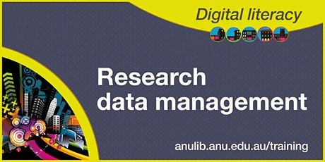 Research data management workshop tickets