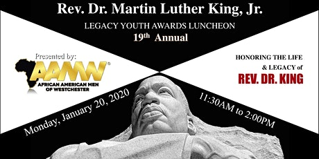 19th Annual Martin Luther King, Jr. Youth Legacy Awards Luncheon tickets